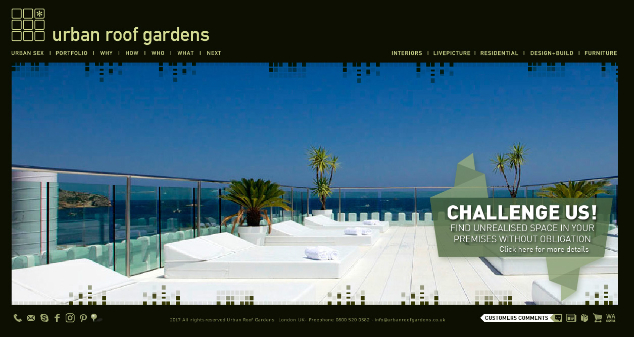 URBAN ROOF GARDENS COMMERCIAL